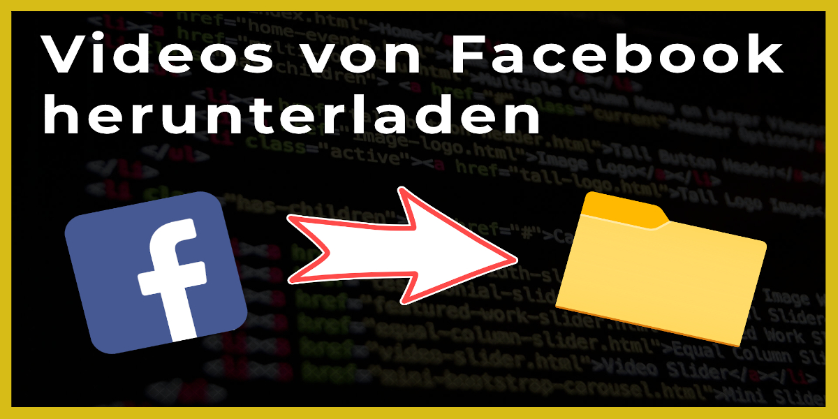 Videos von Facebook herunterladen